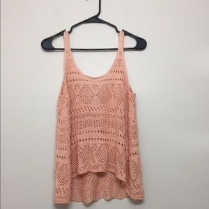 Tops - Adorable Made For Each Other crotchet style tank